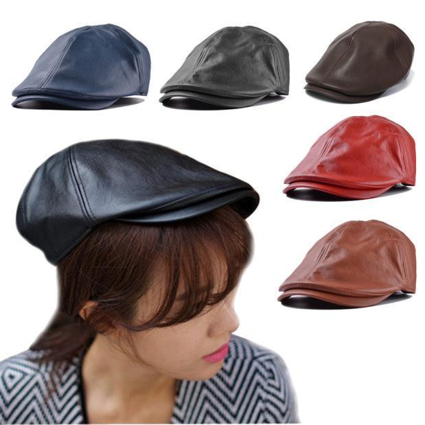 Cotton Mens Adult Beret Houndstooth Baseball Cap Peaked Casquette Pageboy Hats