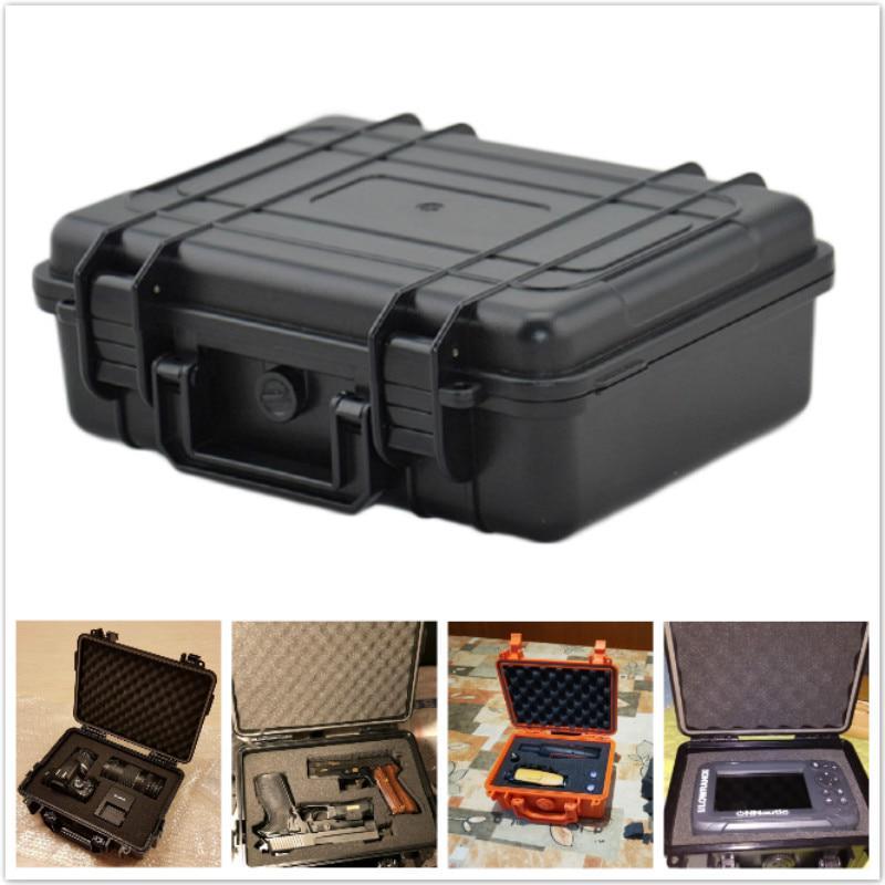 S//M//L Hard Waterproof Tool Storage Case Power Sealed Dry Box Shockproof Holder