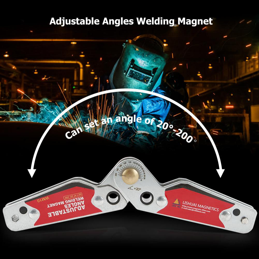 Adjustable Magnet Welding Locator Magnetic Holder Weld Fixture Corner Clamp