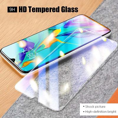 Tempered Glass Screen Protector for iPhone 6 7 8 Plus X 11 Pro Samsung A50 A51 A31 A8 Xiaomi Mi A3 Redmi 9A 9C Note 9 Huawei Honor 9 10 20 Lite