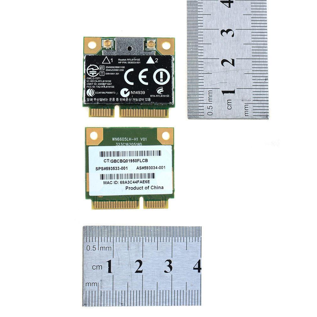 Wireless Wifi Card Realtek RTL8191SE for HP