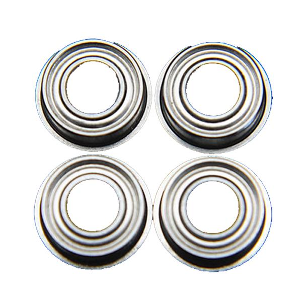 Flange Metal Double Shielded Ball Bearing 5*9*3 5x9x3 mm 10 PCS MF95zz