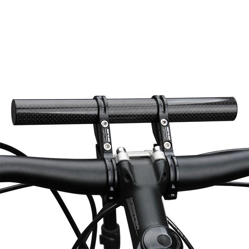 Bicycle Handlebar Extended Bracket Alloy Flashlight Headlight Mount Lamp Support