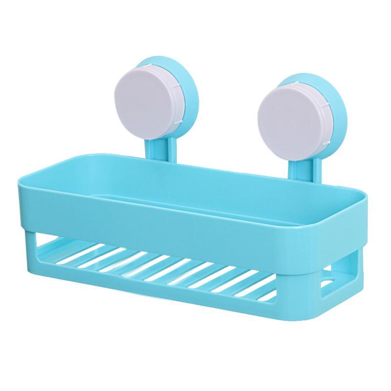 Ventosa plástico baño cocina esquina estante organizador ducha ...