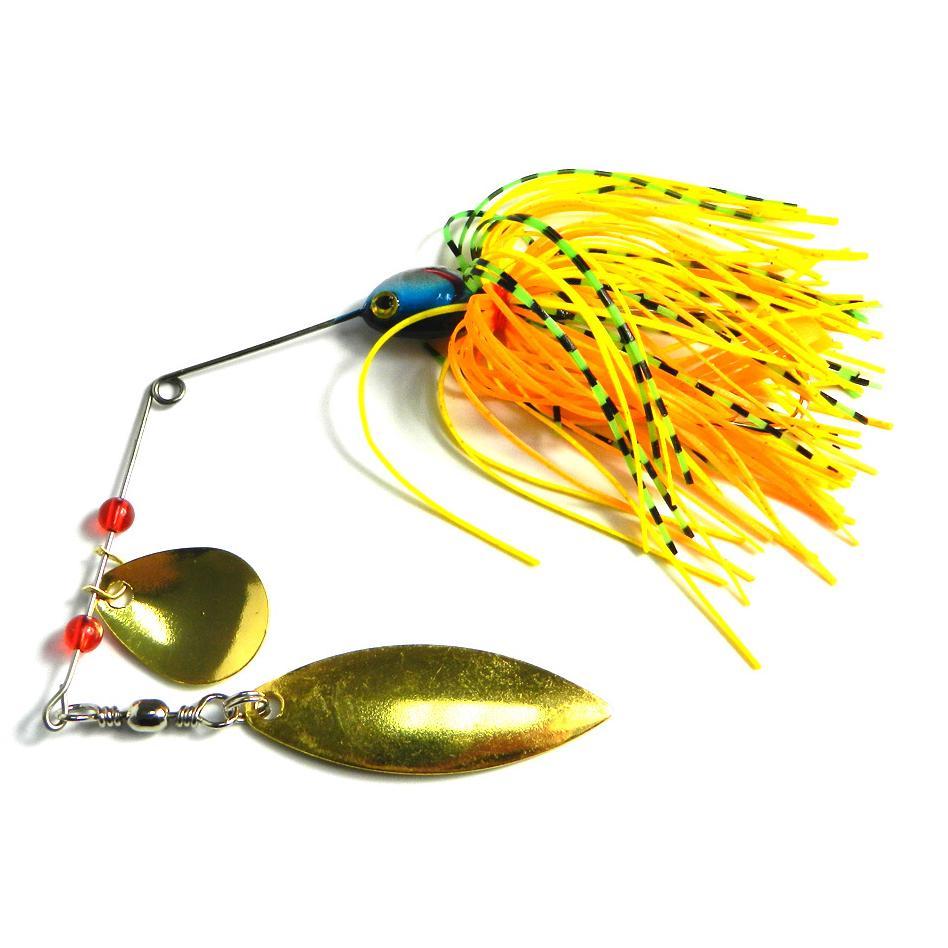 4PCS 20.5g Fishing Lure Spinner Bait Lead Jig Spoon Metal Buzzbait Blade Tackle