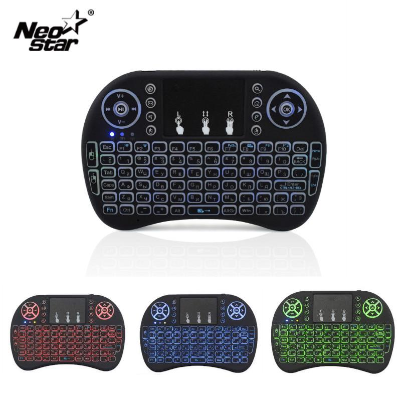 Black Wireless Keyboard Mini Keyboard Mouse Integrated Office Game Tablet Multi-Function Portable Night Backlight