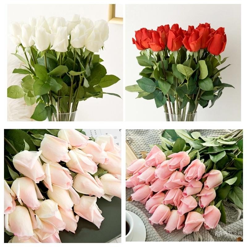 20pcs Tulip Flower Latex Real Touch For Wedding Decor Flower Best Quality