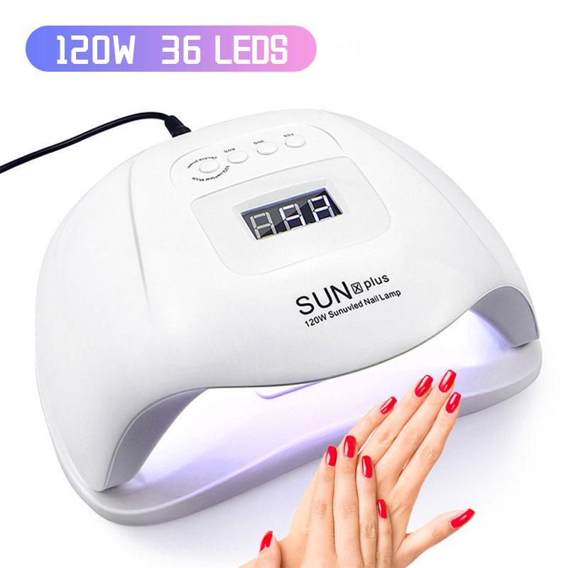 120w Led Uv Nail Lamp Nail Dryer Fast Gel Nail Polish Automatic Infrared Sensor Lamp Nail Art Tools Buy From 21 On Joom E Commerce Platform