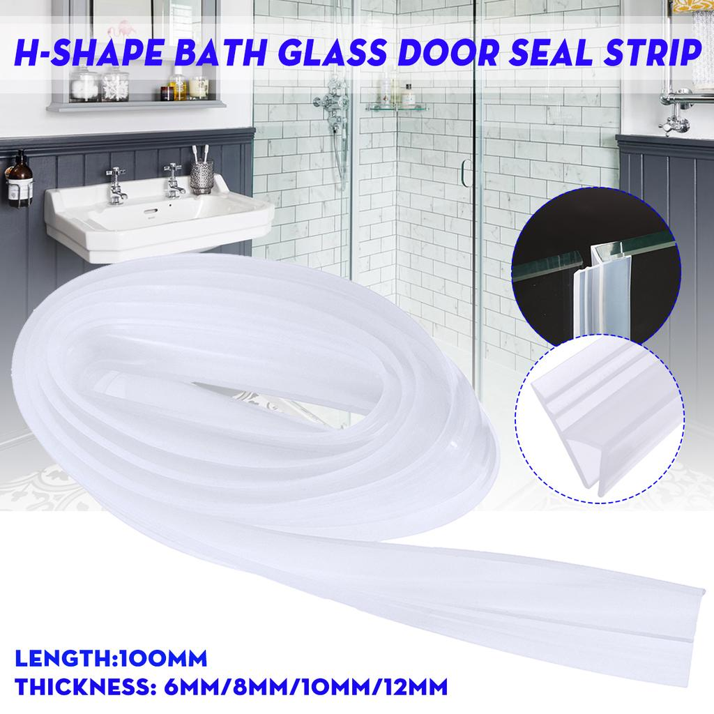 Shower Screen Seal H Bath Door Strip Straight Glass Seals Gap 6mm 8mm 10mm 12mm Buy At A Low Prices On Joom E Commerce Platform