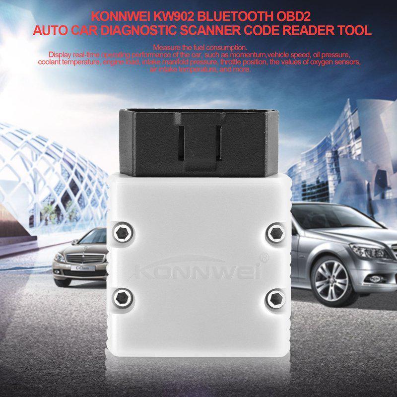 Konnwei KW902 ELM327 OBD2 Car Diagnostic Scanner Code Reader Tool