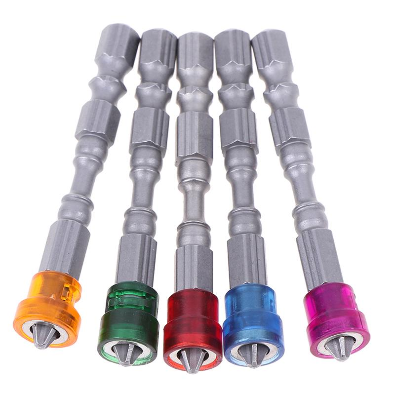 5pcs Magnetic Screw Driver Bit 65mm Screwdriver Bits Drill Set S2 Alloy Steel/_UK