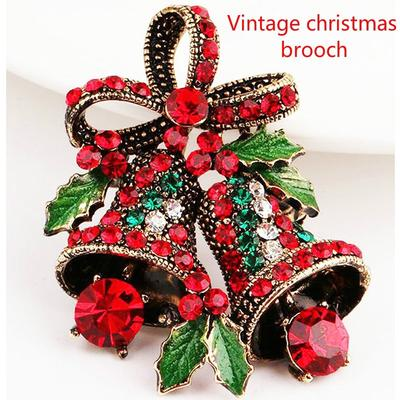 Badges Christmas Suits Pins Creative Gift Bow Corsage