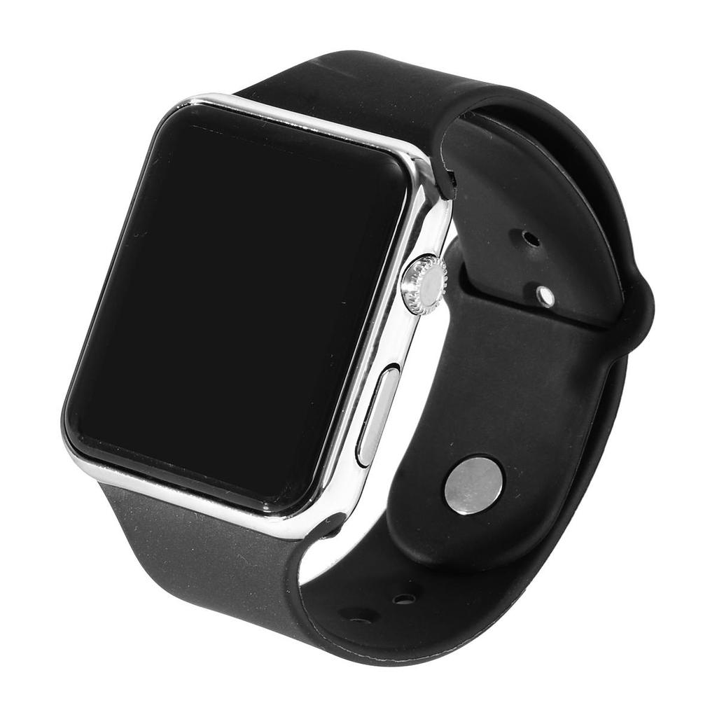 Espejo cuadrado cara silicona banda reloj de pulsera Digital marco ...
