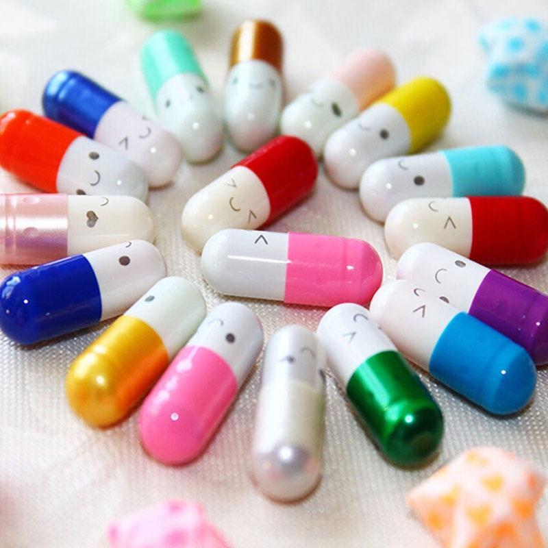 Sale Multiple Love Unique Send To Multi-Color 50pcs Pills Capsule Message