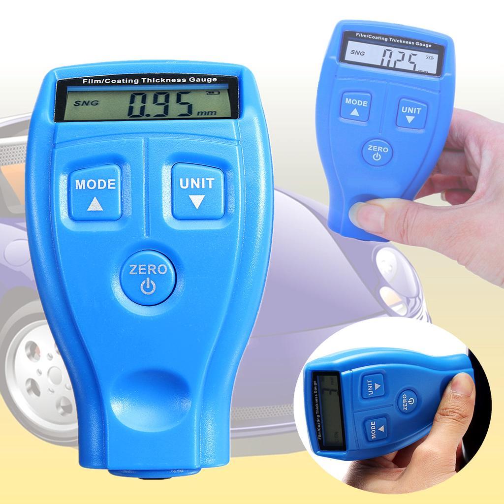 Digital Auto Farbe Überzug Dicke Sonde Inspektion Messgerät Meter Messwerkzeug
