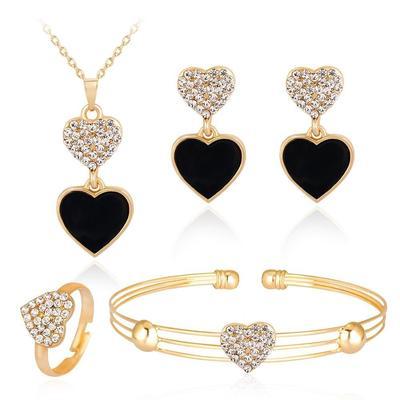 7e05144377be Наборы ювелирных украшений, материал  бриллиант – цены с доставкой из Китая  в интернет-магазине Joom