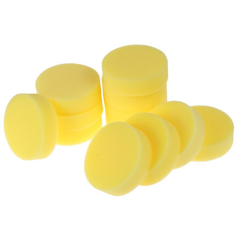 12Pcs//Set Car Polishing Waxing Sponge Wax Purifying Vehicle Foam Clean Pad Tool