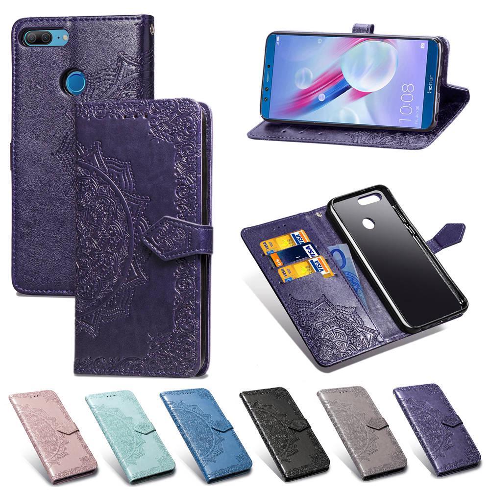 Кожаный телефон Чехол для Huawei P Smart 2019 Y5 Y6 Nova 5i Honor 7A 8A 8S 9X 20 Pro 9 10 Lite Cases фото