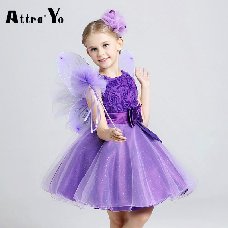 Vestido de falda de niña para niño ropa princesa partido cumpleaños ...