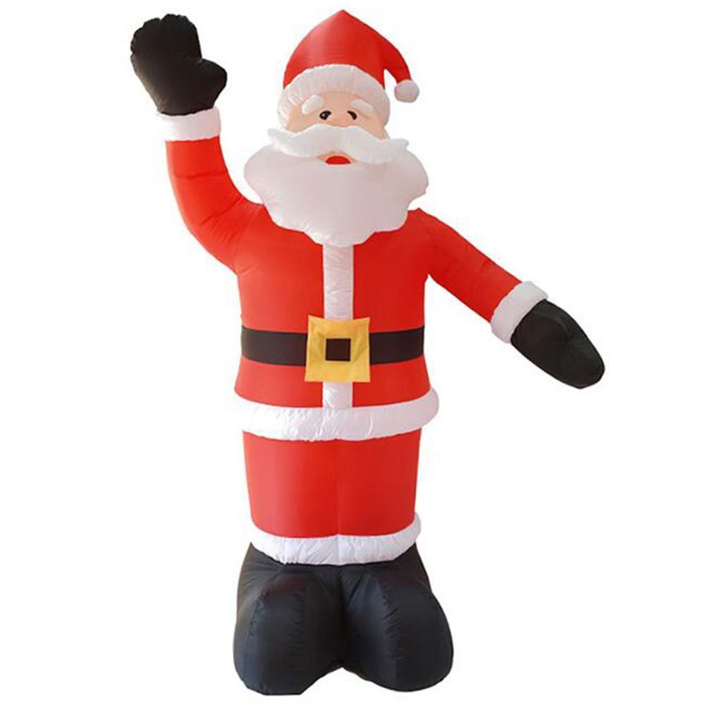 Winter Wonderland Christmas Inflatable Nutcracker Tall LED Light-Up 8 Ft