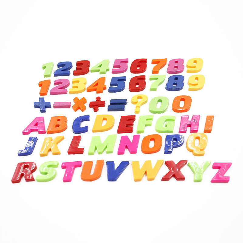 52pcs Colorful Letters /& Numbers Fridge Magnet Kid Educational Refrigerator Toy