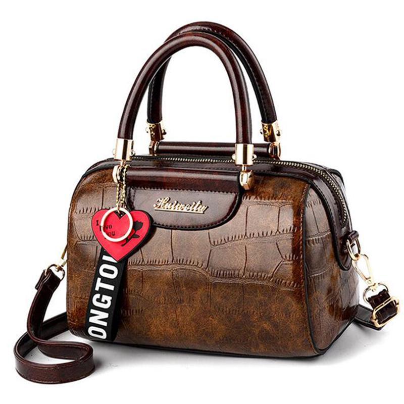 Yogodlns Пу кожа сумки малых через плечо Сумки для женщин сумка с сердца кулон сумка – купить по низким ценам в интернет-магазине Joom