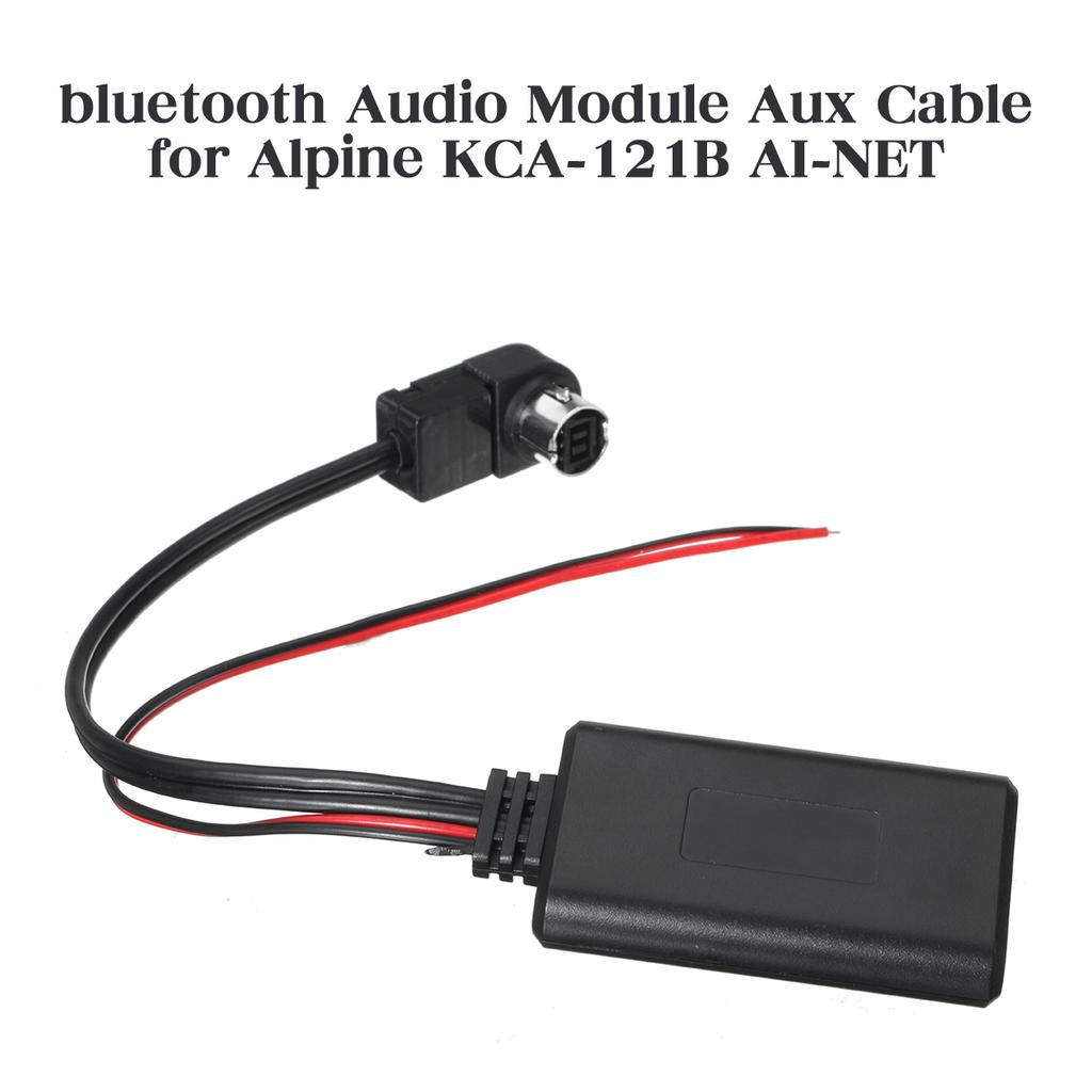 Alpine Car Stereo Radio Audio Ai-Net to 3.5MM iPod Aux Input Adapter KCA-121B