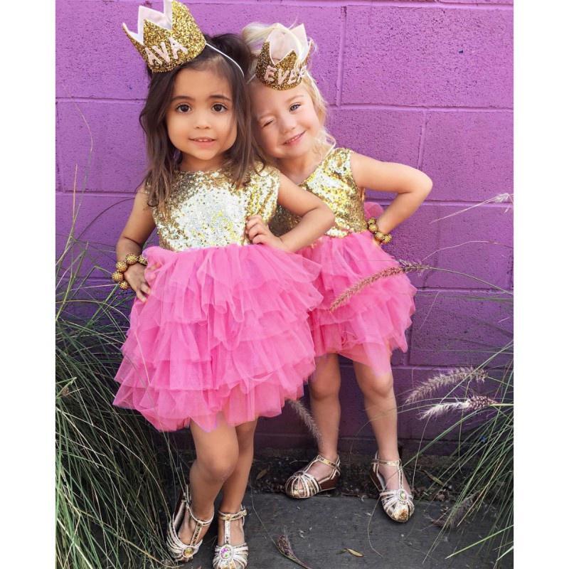 Lentejuelas para niños pequeños bebés niños niñas ropa Princesa ...