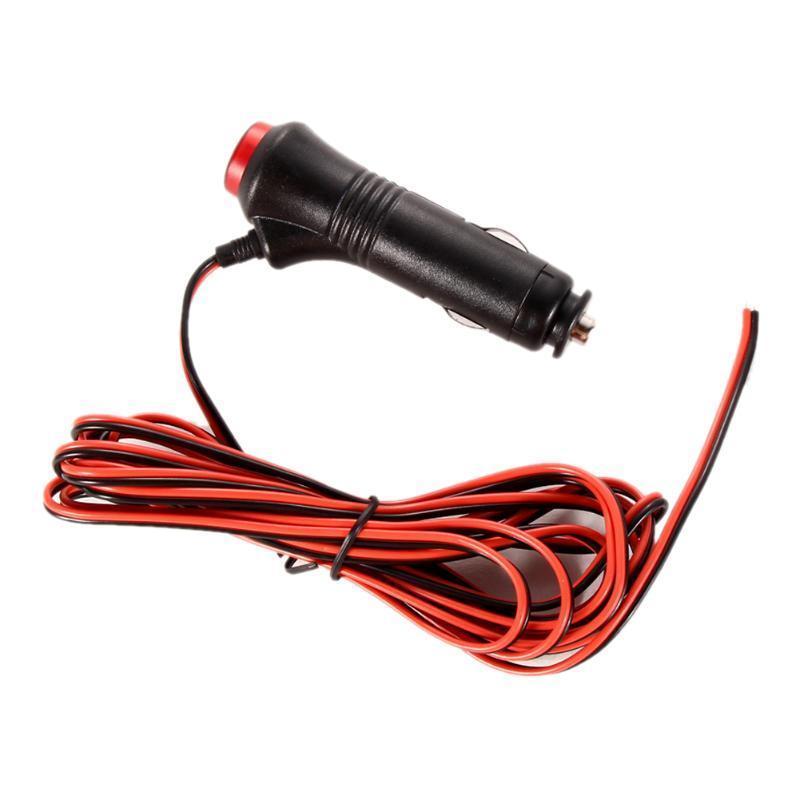 5 Unids 12 V 24 V 5A Enchufe del encendedor del coche Coche Macho Encendedor de Cigarrillos Enchufe DIY Conector