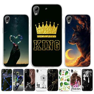 Soft Silicone Case for HTC 626 526 820 616 Case for HTC U12 Plus U11 EYES Cover Painted Cartoon Cute Animal Pet Flower Patterned Phone Bumper