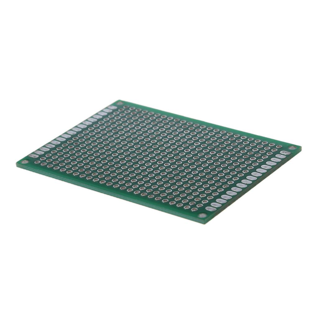 1 5 10 Double Side 5x7cm Pcb Strip Board Printed Circuit Vero Pcs 50mmx70mm Single Copper Cover Stripboard 2 Of