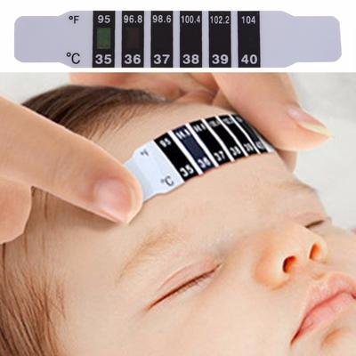 Baby Kids Forehead Strip Head Thermometer Fever Body Temperature Test Safe