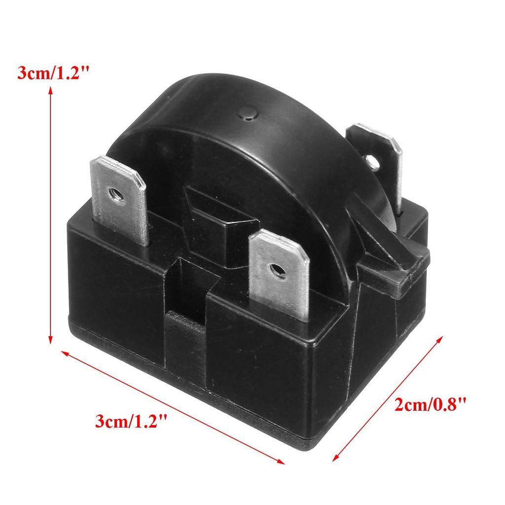 Qp2-4.7 Start Relay Refrigerator Ptc For 4.7 Ohm 1 Pin Compressor WA