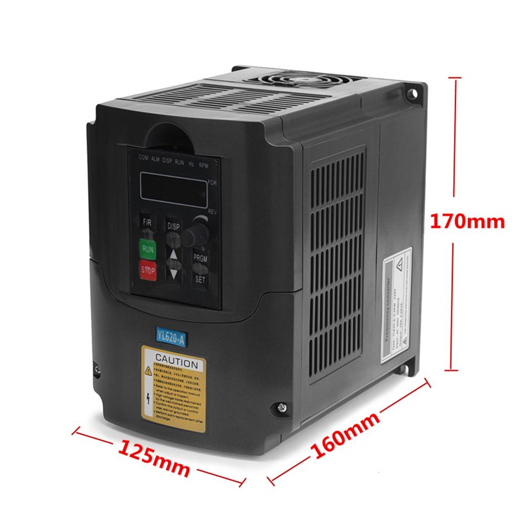 AC380V Frequenzumrichter Variable Frequenz Driver Inverter VFD 1.5KW PWM Control