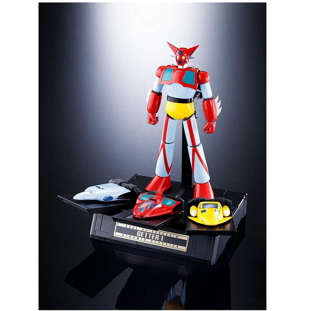 Action Figure Bandai F//S Nuovo Soul Of Chogokin Gx-74 Getter Robot Getter 1 D.c