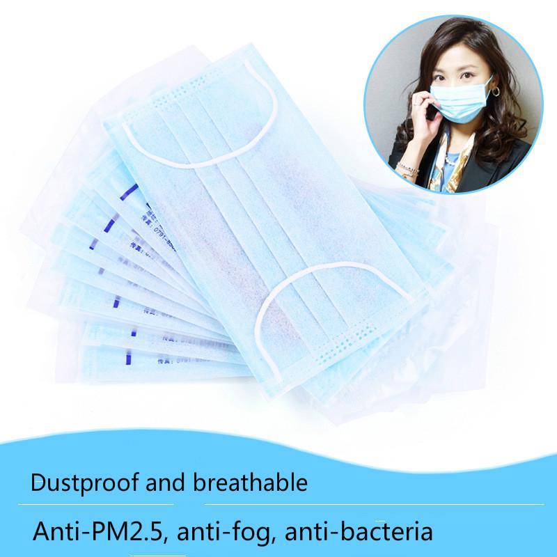 masque jetable anti bacterien