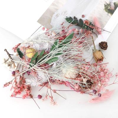 Dried Flower Candle Handmade Making Aromatherapy Wax Piece Special Dried Flower DIY Material