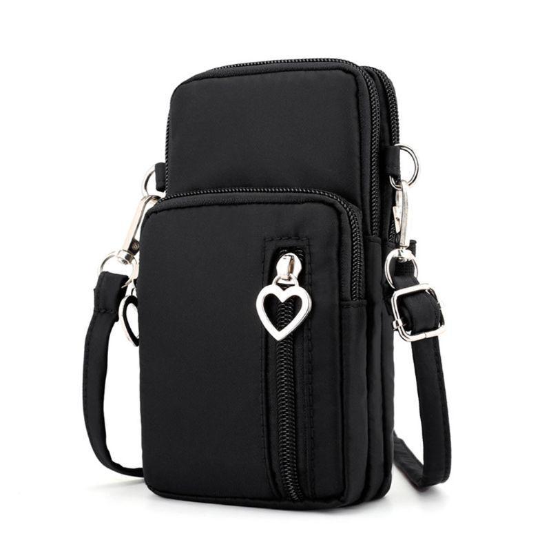Cross-body Shoulder Bag Pouch Case Belt Handbag Purse Mobile Phone Wallet Bags
