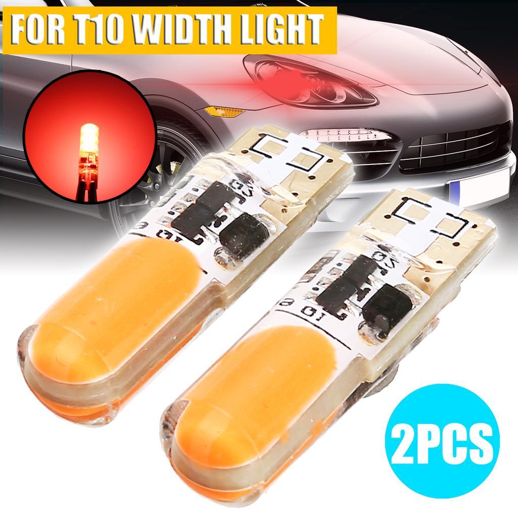 UK 2pcs T10 W5W 194 168 12V 2SMD 3030 Car Width Lamp Plate Lights Bulb