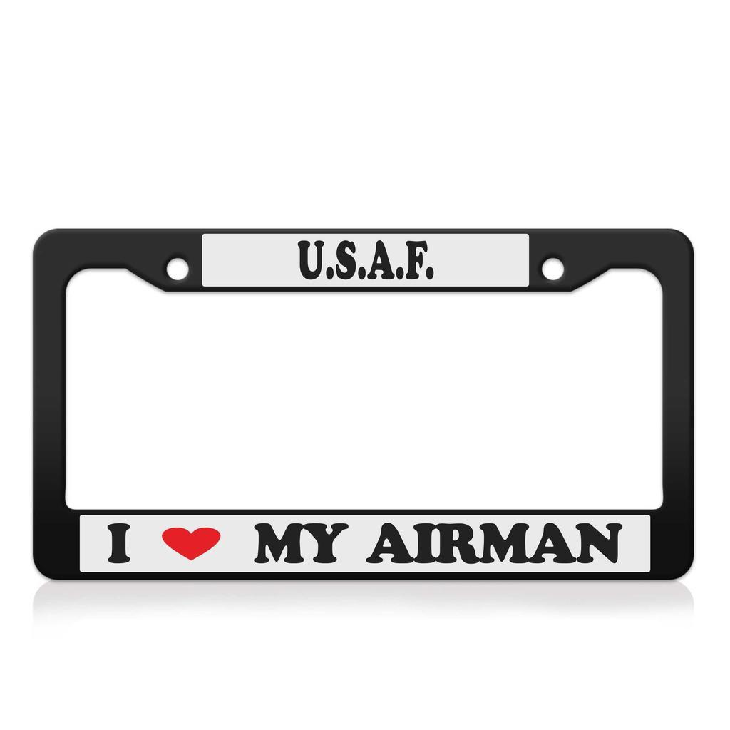 Me encanta mi licencia de aviador de la U.S.A.F placa estructura ...