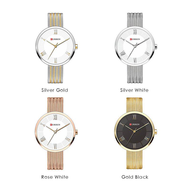 CURREN 9020 New Women's Watch Quartz Stainless Steel Wrist-buy at ...