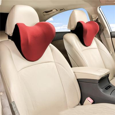 2 Pcs Car Seat Headrest Cushion,Memory Foam Car Neck Pillows for Toyota TRD,Neck Support Car Seat Pillow with Removable Cover,Universal Car Neck Cushion Suppor Breathable