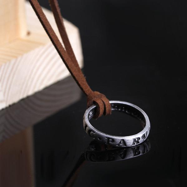 Uncharted Nathan Drake Ring Sir Francis Drake Necklace Sic Parvis