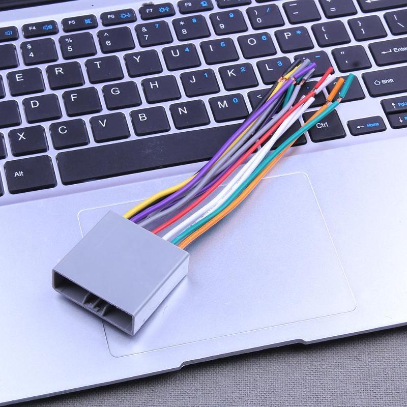 Auto-Stereo-CD-Spieler Verdrahtung Kabelbaum Kabel Adapterstecker ...
