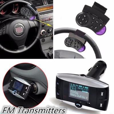 LCD Wireless Bluetooth FM Transmitter Modulator USB Car SD MP3 Player w//Remote