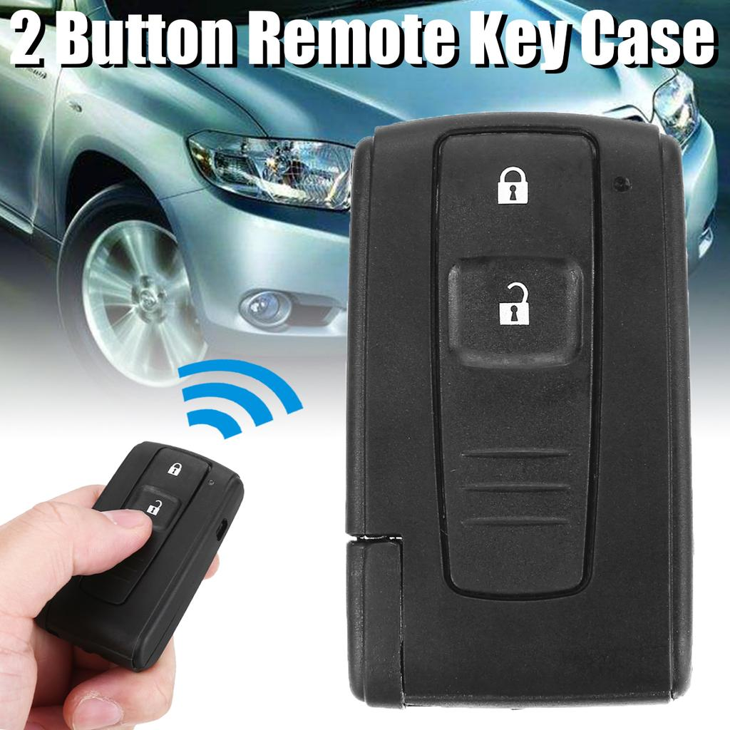 Sky Blue 3 Buttons Silicone Remote Smart Key Covers Holder Key Case Jacket Protector fit for 2004-2009 TOYOTA Prius