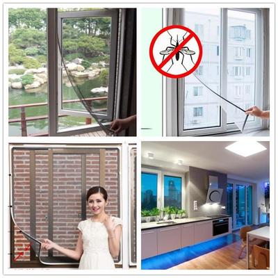 New arrive DIY Insect Fly Bug Mosquito Door Window Net Mesh Screen