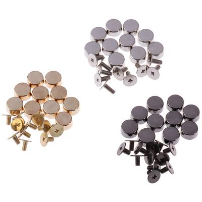 STSUNEU Stainless Steel Snap Buttons 200 Pcs 15mm Press Stud Kit Studs for Clothing Leather Denim Jackets Bags Marine Canvas 4 Components for Each, 50 Sets in Total