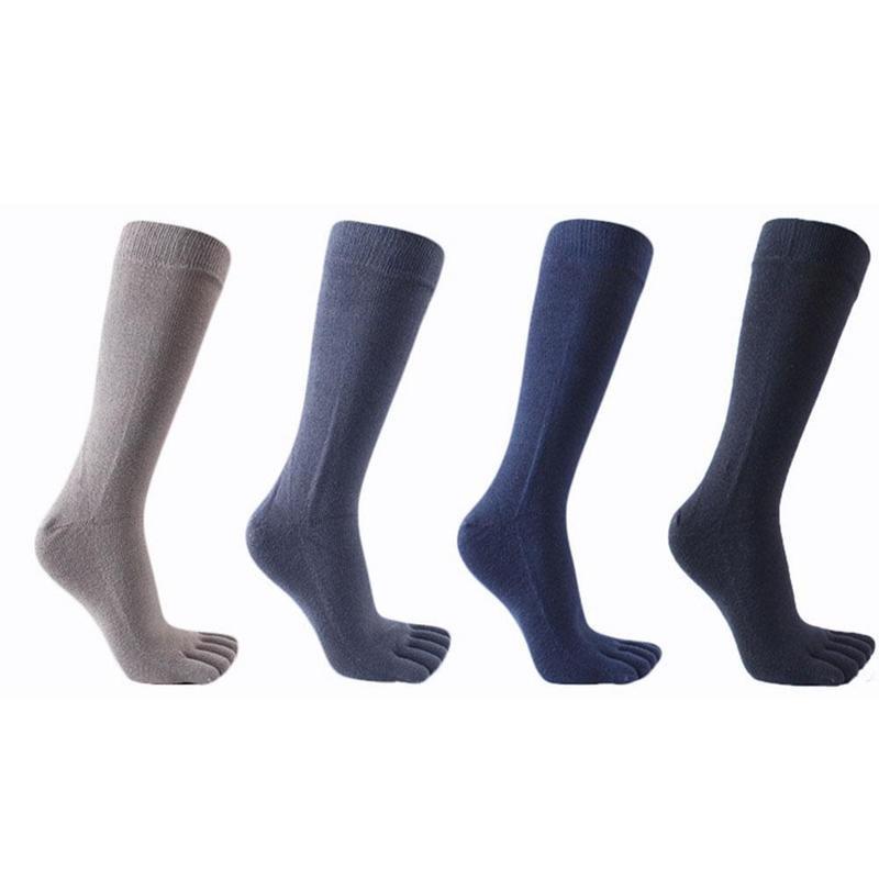 Cotton long tube Japanese cotton breathable sweat deodorant toe socks