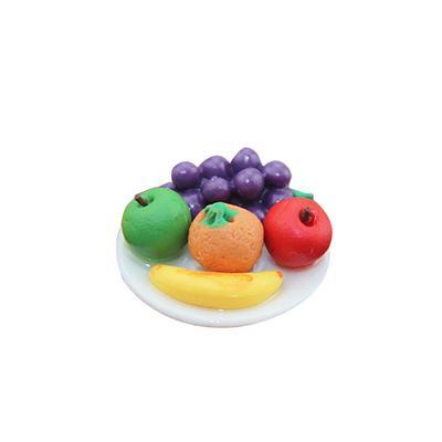 Magnetic Miniature Fridge Sticker Assorted Fruits Dollhouse Life Scene Decor